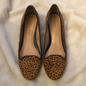 Julianne Hough for Sole Society Cheetah Print Flat